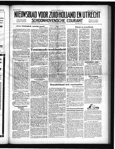 Schoonhovensche Courant 1952-02-11