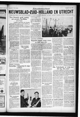 Schoonhovensche Courant 1961-03-27