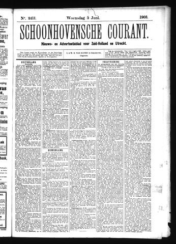 Schoonhovensche Courant 1903-06-03