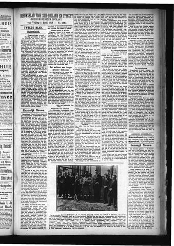 Schoonhovensche Courant 1929-04-05