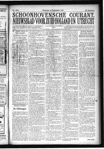 Schoonhovensche Courant 1927-09-13
