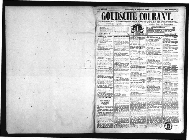 Goudsche Courant 1913-01-01