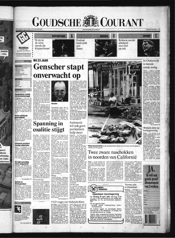 Goudsche Courant 1992-04-27