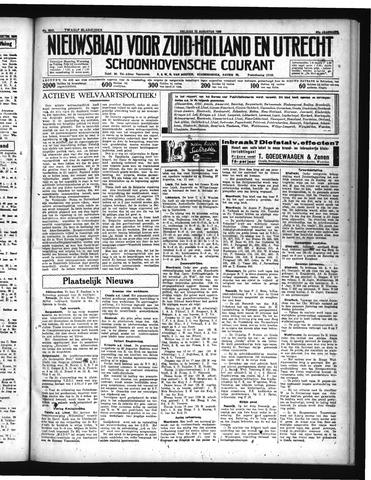 Schoonhovensche Courant 1935-08-23