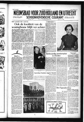 Schoonhovensche Courant 1956-01-18