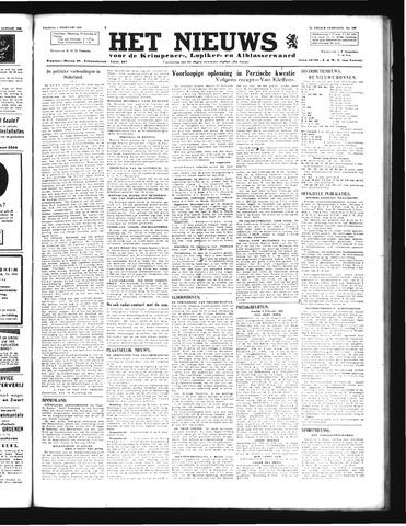 Schoonhovensche Courant 1946-02-01