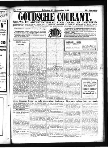 Goudsche Courant 1930-09-27
