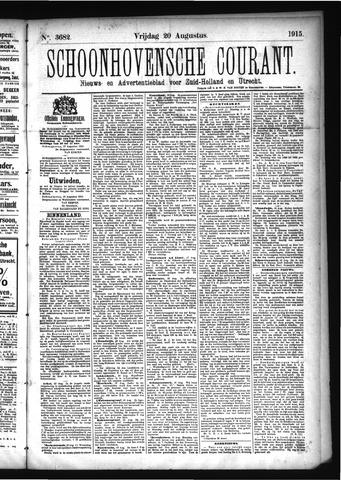 Schoonhovensche Courant 1915-08-20