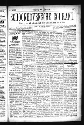 Schoonhovensche Courant 1917-01-26