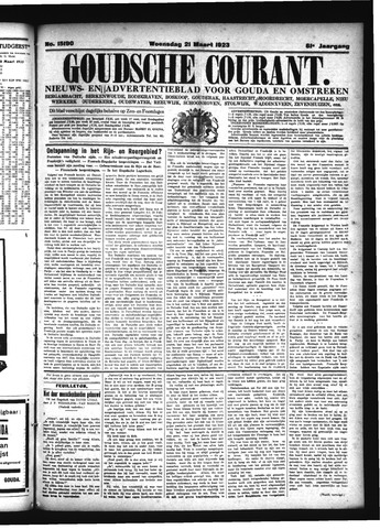 Goudsche Courant 1923-03-21