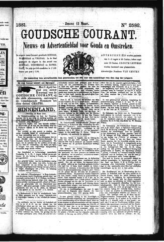 Goudsche Courant 1881-03-13