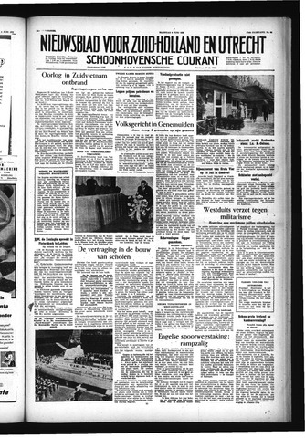 Schoonhovensche Courant 1955-06-06