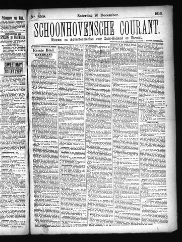 Schoonhovensche Courant 1913-12-20
