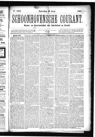 Schoonhovensche Courant 1895-06-29