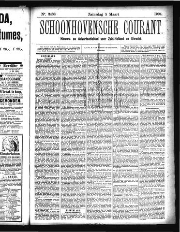 Schoonhovensche Courant 1904-03-05