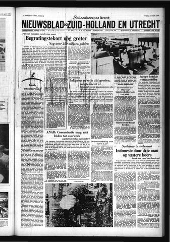 Schoonhovensche Courant 1966-04-15