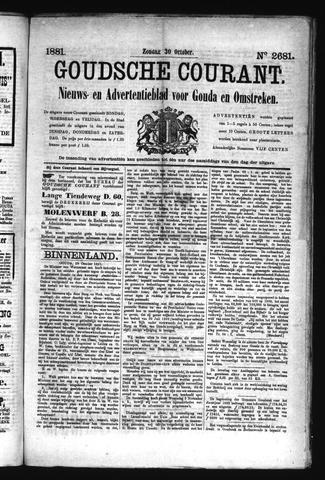 Goudsche Courant 1881-10-30