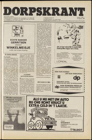 Dorpskrant 1980-08-29
