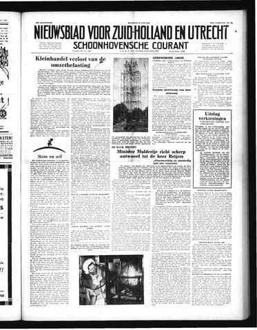 Schoonhovensche Courant 1952-06-23