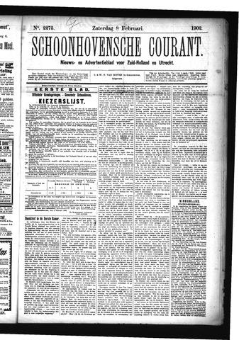 Schoonhovensche Courant 1902-02-08