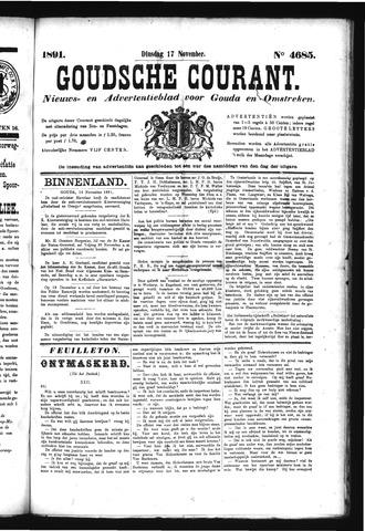 Goudsche Courant 1891-11-17