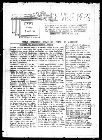 De Vrije Pers 1945-04-03