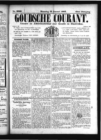 Goudsche Courant 1903-01-12