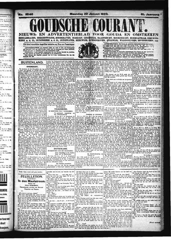 Goudsche Courant 1923-01-22