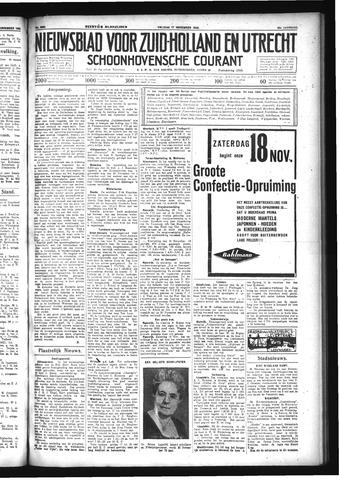 Schoonhovensche Courant 1933-11-17