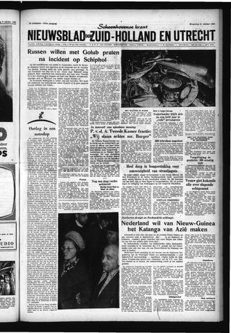 Schoonhovensche Courant 1961-10-11