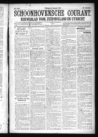 Schoonhovensche Courant 1927-01-21