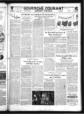 Goudsche Courant 1950-04-22