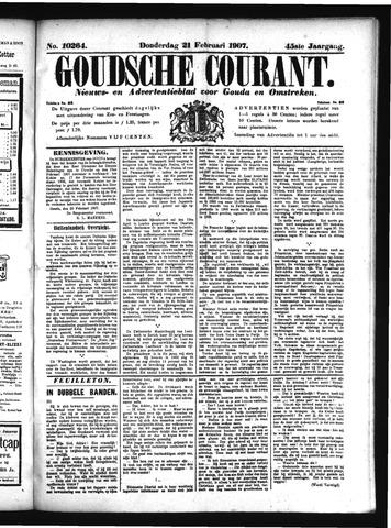Goudsche Courant 1907-02-21