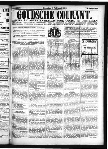 Goudsche Courant 1935-02-11