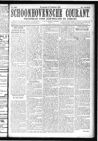 Schoonhovensche Courant 1924-08-20
