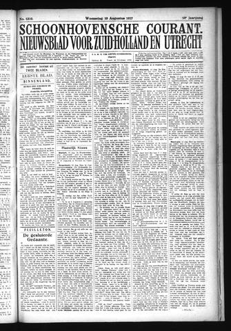 Schoonhovensche Courant 1927-08-10