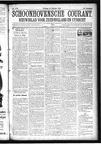 Schoonhovensche Courant 1926-10-15