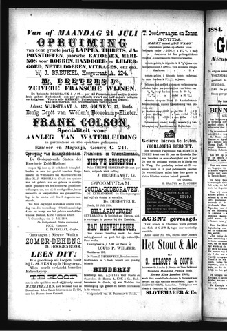Goudsche Courant 1884-07-22