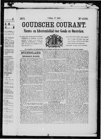 Goudsche Courant 1871-04-21