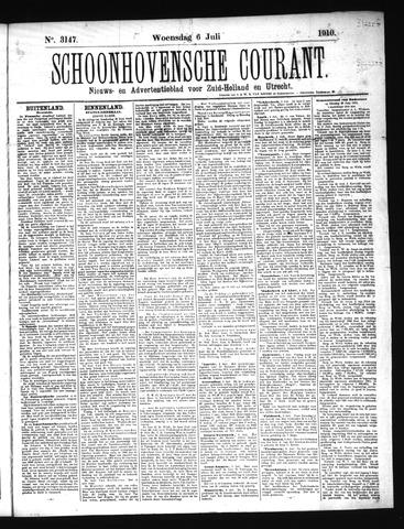 Schoonhovensche Courant 1910-07-06