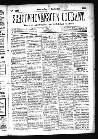 Schoonhovensche Courant 1920-08-04