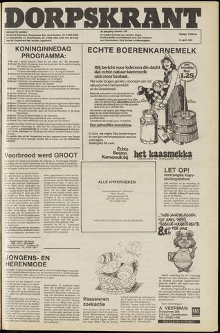 Dorpskrant 1984-04-18