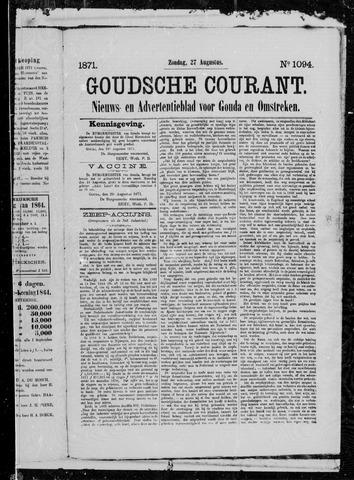 Goudsche Courant 1871-08-27