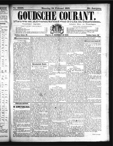 Goudsche Courant 1913-02-24