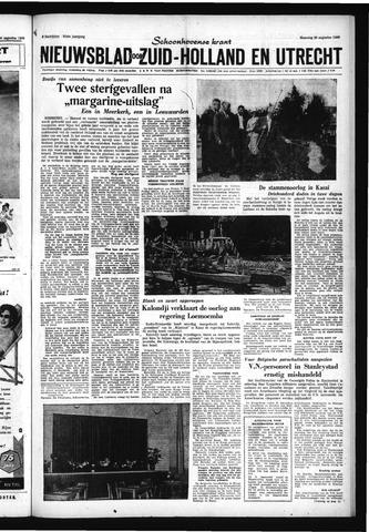 Schoonhovensche Courant 1960-08-29
