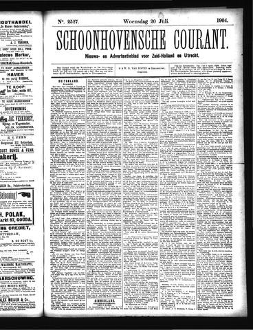 Schoonhovensche Courant 1904-07-20