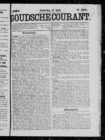 Goudsche Courant 1865-04-27