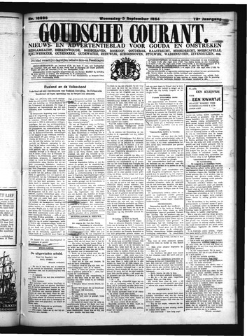 Goudsche Courant 1934-09-05