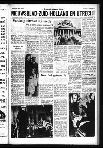 Schoonhovensche Courant 1963-11-25