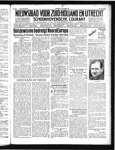 Schoonhovensche Courant 1939-10-11